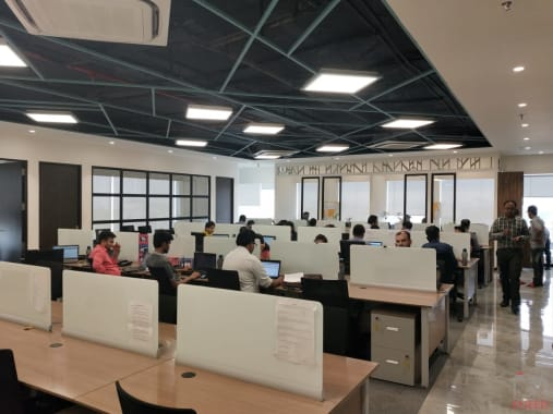 20 seaters Open Desk Indore AB Road incuspaze-princes-skypark