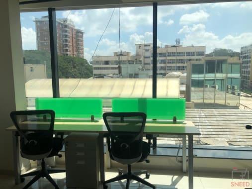 7 seaters Open Desk Bangalore Cunningham Road seven-h