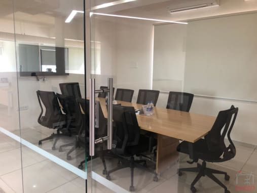 10 seaters Meeting Room Bangalore Cunningham Road seven-h