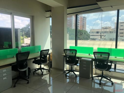 7 seaters Open Desk Bangalore Cunningham Road seven-h