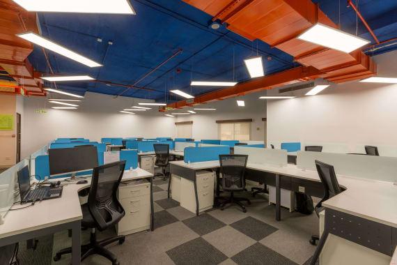 100 seaters Open Desk Bangalore Koramangala indiqube-celestia
