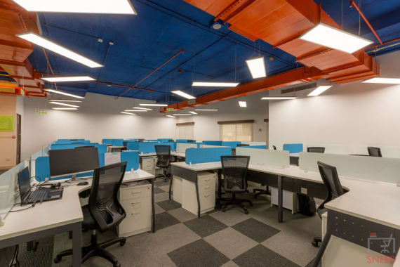 200 seaters Open Desk Bangalore Kadubeesanahalli indiqube-gamma