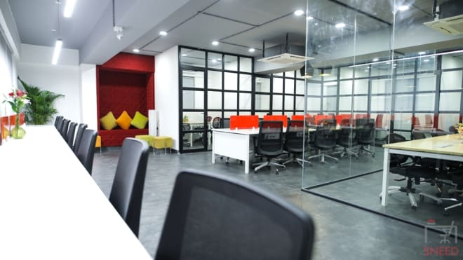 15 seaters Open Desk Bangalore Kadubeesanahalli gospaze-coworking-centre-bellandur