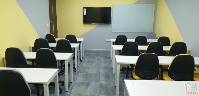 25 seaters Training Room Bangalore Yeshwantpur snapminds