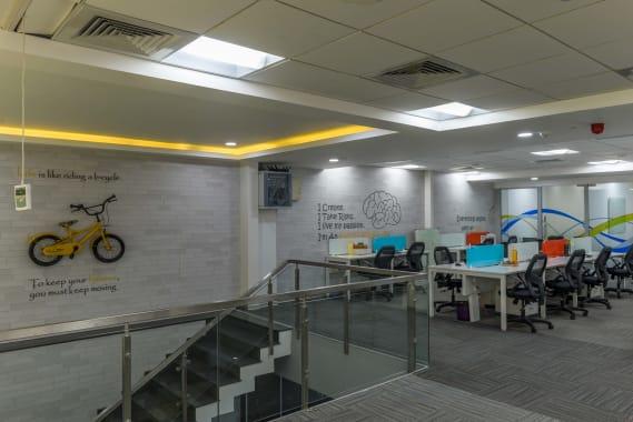 100 seaters Open Desk Bangalore Richmond circle indiqube-penta