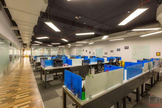 50 seaters Open Desk Bangalore Richmond circle indiqube-penta
