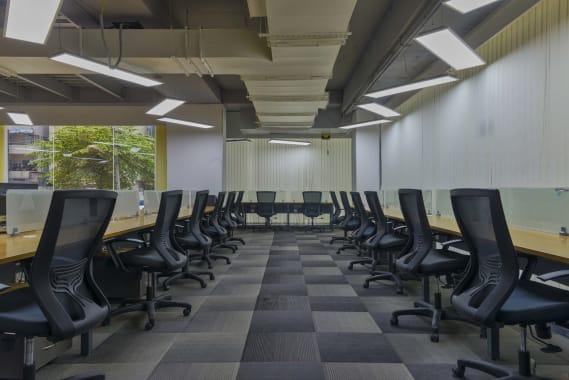 100 seaters Open Desk Bangalore HSR indiqube-orion