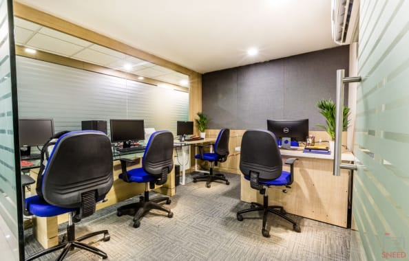 6 seaters Private Room Pune Fatima Nagar kontor-space-pune