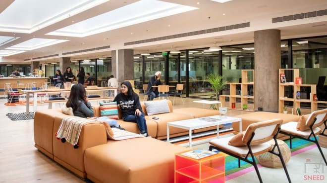 30 seaters Open Desk Gurgaon Sector 15 wework-32nd-milestone