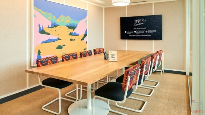 10 seaters Meeting Room Mumbai Andheri wework-vijay-diamond