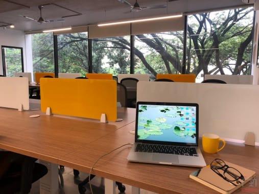 21 seaters Open Desk Bangalore Koramangala -workden-koramangala