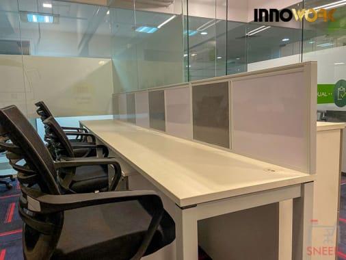 40 seaters Open Desk Gurgaon Sector 38 innowork-gurgaon