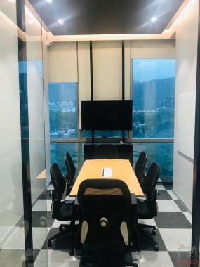 8 seaters Meeting Room Mumbai Mulund lets-work-cospaces