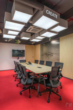 10 seaters Meeting Room Hyderabad Kondapur work-wild-innovative-workspace