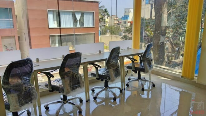 24 seaters Open Desk Bangalore Koramangala hg-coworks