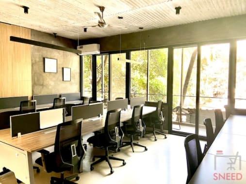 20 seaters Open Desk Bangalore Indiranagar dongle-desk