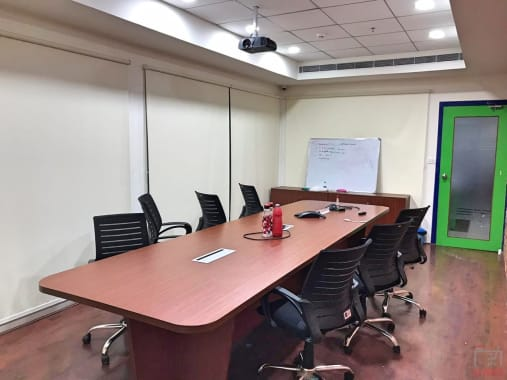 10 seaters Meeting Room Hyderabad Kukatpally the-work-hub