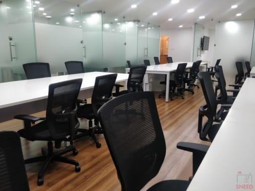 13 seaters Open Desk Bangalore Rajajinagar space-55