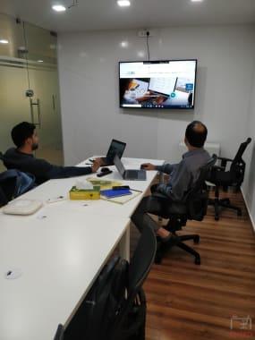 6 seaters Meeting Room Bangalore Rajajinagar space-55