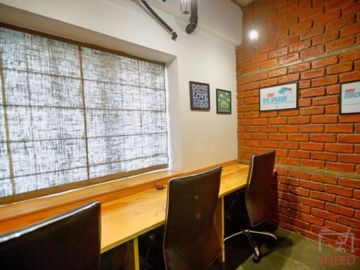 6 seaters Private Room Hyderabad Madhapur rent-a-desk-hitec