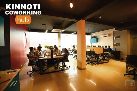 40 seaters Open Desk New Delhi Mohan Estate kinnoti-coworking-hub