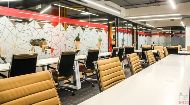 35 seaters Open Desk New Delhi Okhla the-office-pass-south-delhi