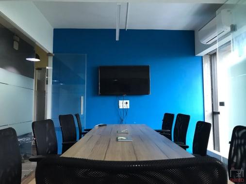 10 seaters Meeting Room Ahmedabad Naranpura uncubate-coworking-viva