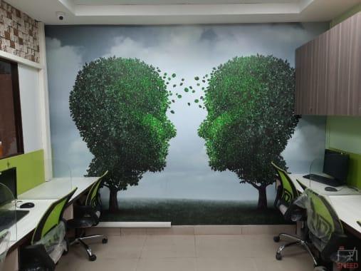 32 seaters Open Desk New Delhi Dwarka peer2desk