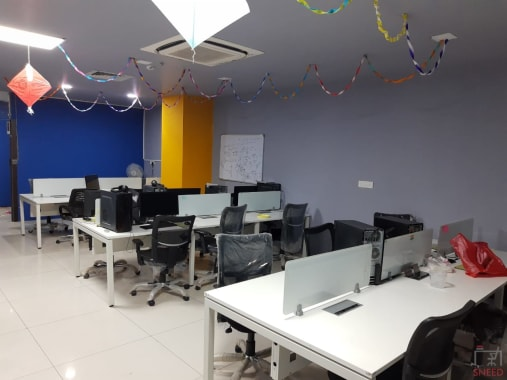 20 seaters Open Desk Hyderabad Gachibowli vv-desk