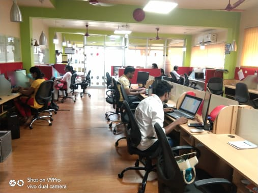 15 seaters Open Desk Chennai George Town broadway