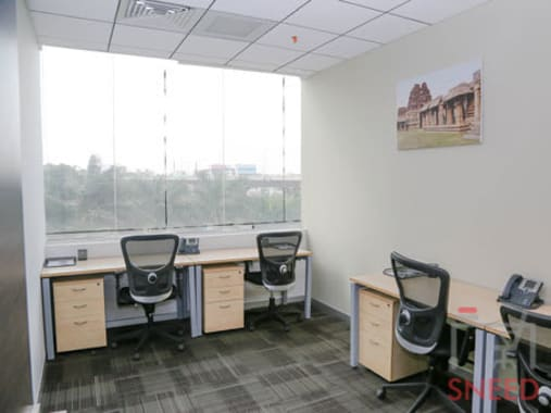 4 seaters Private Room Bangalore Hosur Road flexible-office-ibis