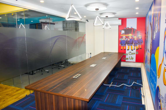 12 seaters Meeting Room Bangalore Bellandur lad-workspaces