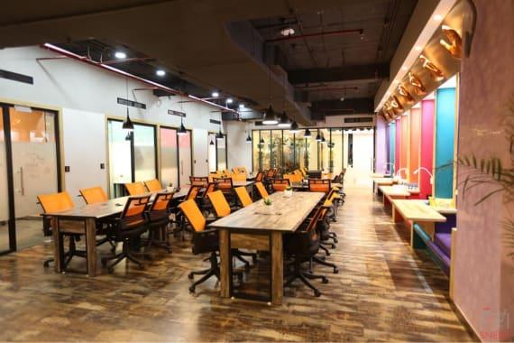 100 seaters Open Desk Noida Sector 127 kocreate