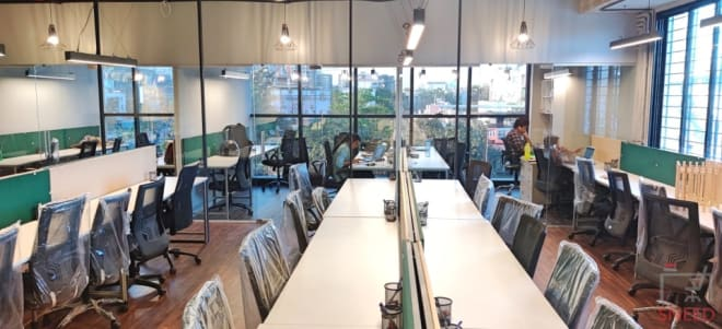 51 seaters Open Desk Pune Baner neper-labs-coworking