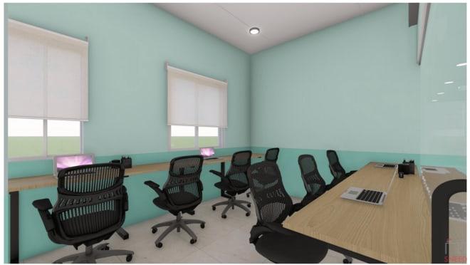 7 seaters Private Room Bangalore Kalyan Nagar space-gain