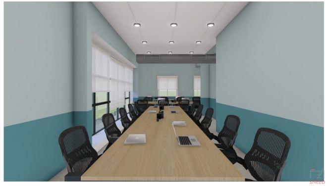 57 seaters Open Desk Bangalore Kalyan Nagar space-gain