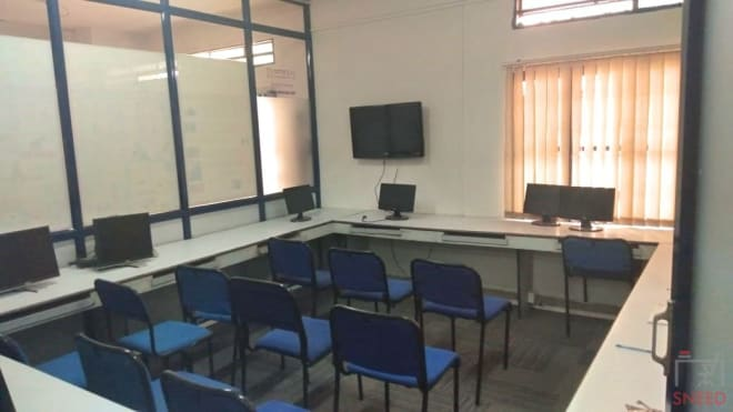15 seaters Training Room Bangalore Rajajinagar netenzaa-training