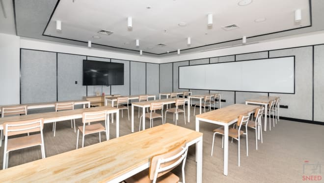 Training Room Gurgaon DLF Cyber City wework-forum