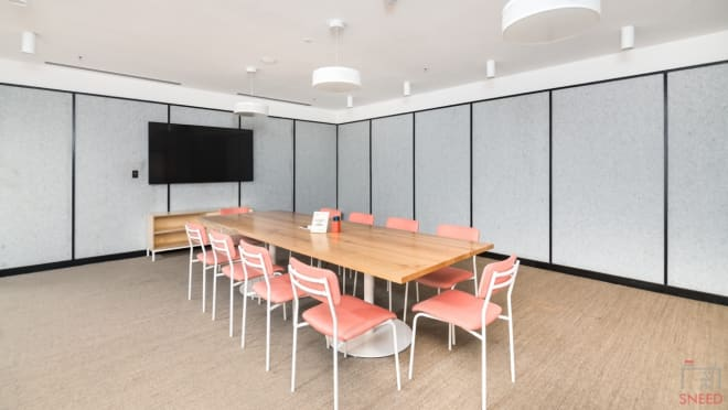 10 seaters Meeting Room Gurgaon DLF Cyber City wework-forum