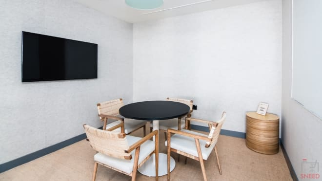 3 seaters Meeting Room Gurgaon Sector 43 wework-two-horizon-center