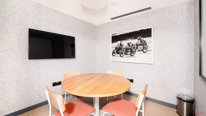 3 seaters Meeting Room Gurgaon Sector 15 wework-32nd-milestone