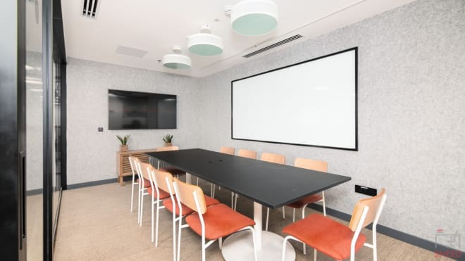 14 seaters Meeting Room Gurgaon Sector 15 wework-32nd-milestone