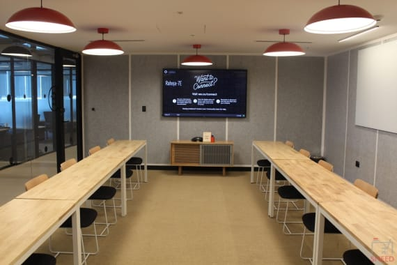 16 seaters Meeting Room Mumbai Andheri wework-raheja-platinum