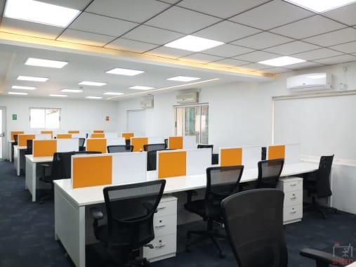 60 seaters Open Desk Bangalore Richmond circle oftog
