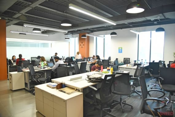 40 seaters Open Desk Gurgaon Sector 44 plus-offices-sector-44