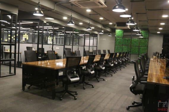 36 seaters Open Desk Hyderabad Kondapur cokarma-botanical-garden