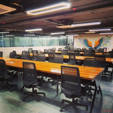 54 seaters Open Desk Hyderabad Hitech City cokarma-hitech-city