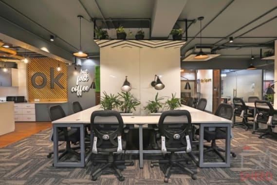 40 seaters Open Desk Indore Vijay Nagar sky-space-premium-coworking-space