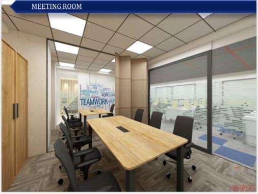 12 seaters Meeting Room Mumbai BKC kontor-space-bkc