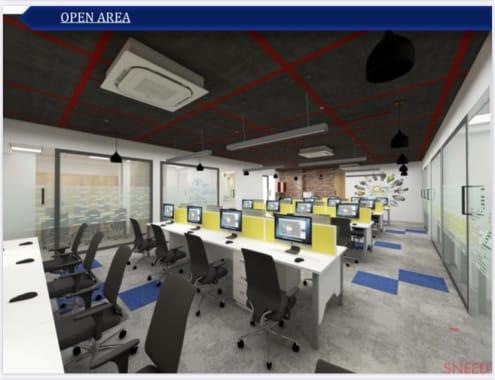 20 seaters Open Desk Mumbai BKC kontor-space-bkc